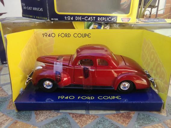 Ford Coupe 1940 Escala 1/24 Nuevo,