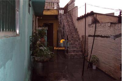 Casa Residencial Para Locação, Jardim Ester, São Paulo - Ca0737. - Ca0737