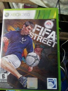 Videojuego Fifa Street Xbox 360