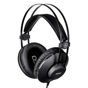 Fone De Ouvido Akg K52 Headphone Profissional Studio Mixagem