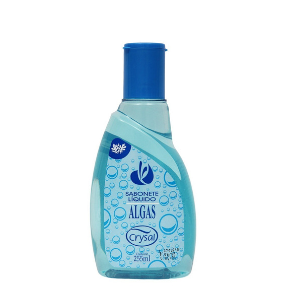 Sabonete Liquido 255 Ml Aroma Algas Marinhas Crysal