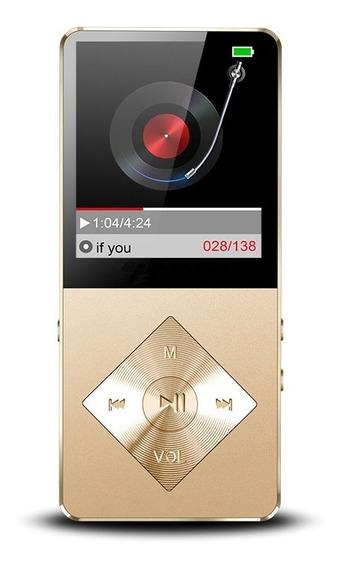 Mp4 Mp3 Player Rádio Fm Gravador Importado Memória 16 Gb
