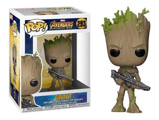 Funko Pop Avengers Infinity War - Groot 293 Original