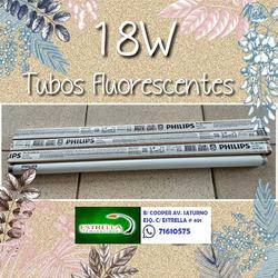 Mira Tubos Fluorescentes De 18w Luz Blanca A Precios Modicos