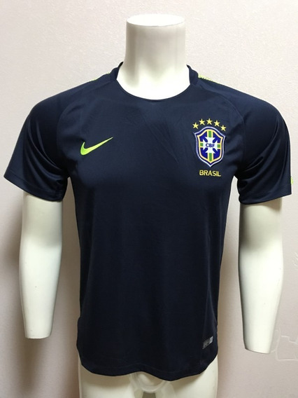 Camisa De Treino Nike Brasil Breathe G