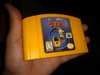 Earthworm Jim Nintendo 64