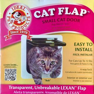 Puerta Para Gatos Mascotas Cat Flap Ideal Pet Plástico