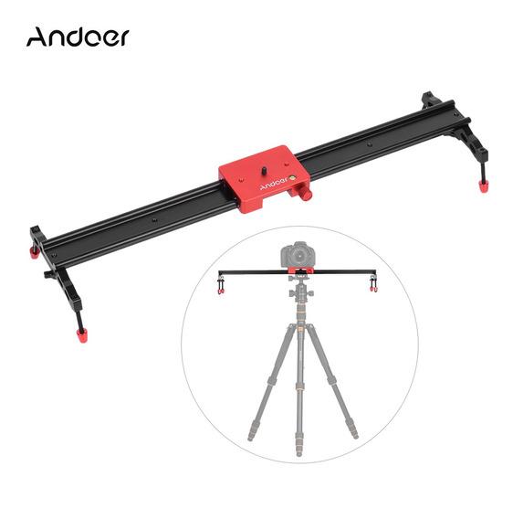 Andoer 60cm/23.6 All Metal Alumínio Liga Vídeo Track