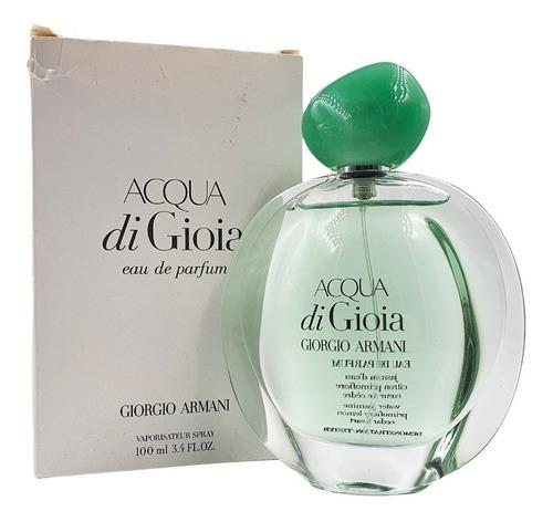 Imagen 1 de 1 de Acqua Di Gioia Edp 100ml (tester) Giorgio Armani