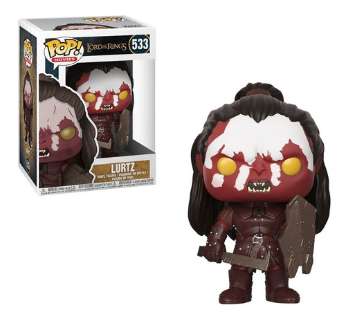 Funko Pop Movies The Lord Of The Rings Lurtz #533