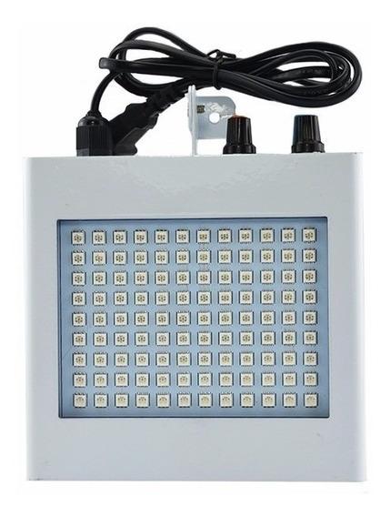 Strobo 108 Leds Branco Frio Iluminação Led Room Ecopower !!!