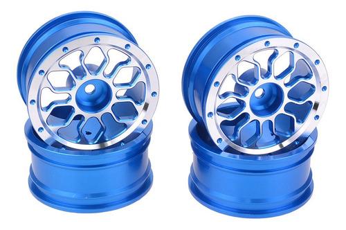 Imagen 1 de 6 de 4 Unids 1.9 Pulgadas Aluminio Beadlo Llantas Para 1/10 Rc Ro