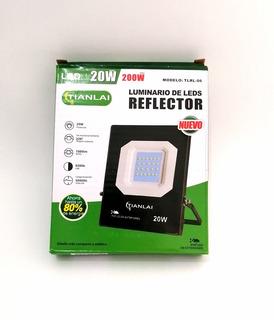 Reflector Led 20w Ip 66 Led Alta Potencia Ultra Delgado