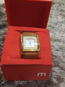 Relógio Séculos Mondaine Com Pulseira De Couro R25528ld02