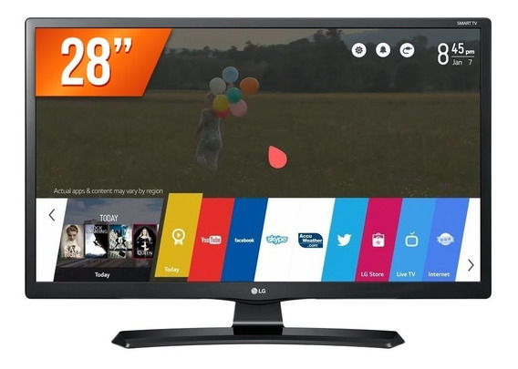 Lg Smart Tv Monitor Lcd Led 28 28mt49s-ps Wi-fi Integrado