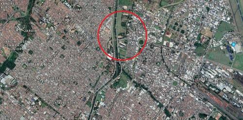 Otimo Terreno Para Venda Na Via Norte Proximo Da Thomaz Alberto Whately No Jardim Joquei Clube, Com 1320 M2 Medindo 12 X 110 M, Terreno Plano - Te00209 - 33711401