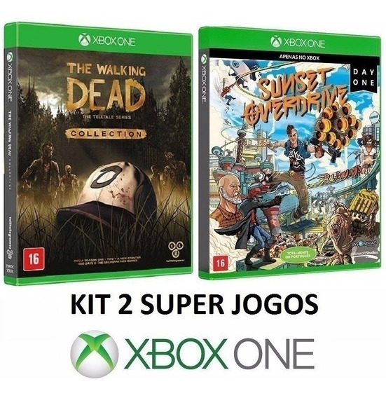 The Walking Dead Collection + Sunset - Midia Fisica Xbox One