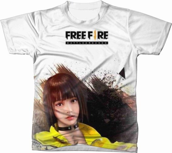 Camiseta Camisa Personalizada Free Fire Jogo Game Ref 14