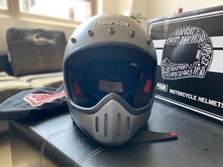 Casco Simpson M50 Con Goggles Barstow