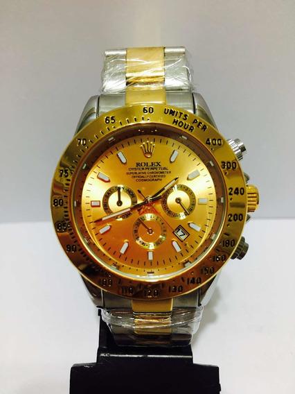 Relógio Daytona Misto Gold