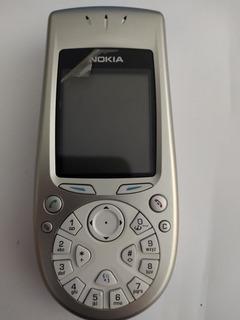 Celular Nokia Modelo 3650 - Com Manual E Caixa (peças)