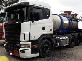 Scania 124 400 6x2 2002 ($109.890,00 ) Motor Novo