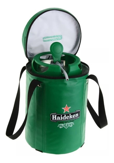 Bolsa Térmica Para Barril Heineken. Haideken Tomar Meu Chopp