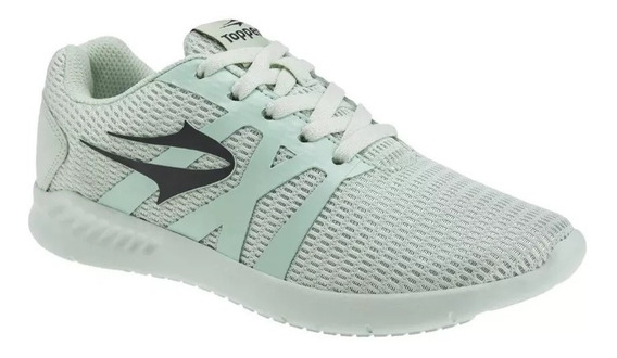 Topper Zapatillas Running Mujer Strong Pace Verde Claro