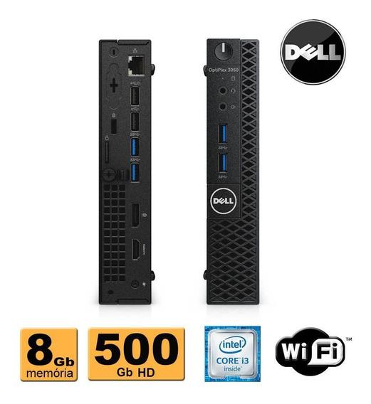Mini Pc Dell Optiplex 3050 Core I3 8gb Ddr4 500gb Promoção