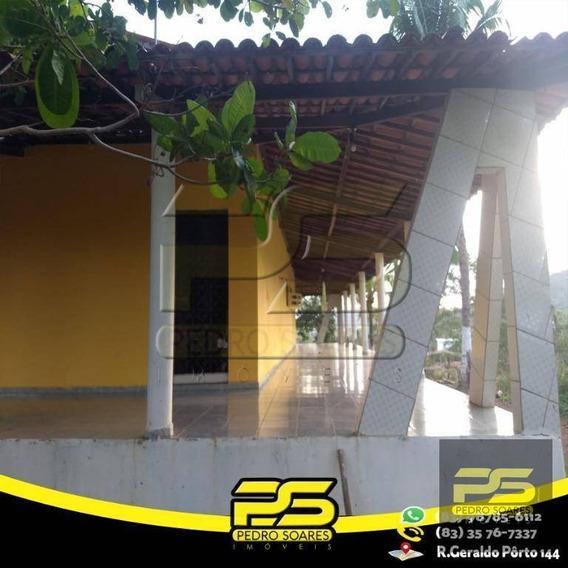 Chácara À Venda, 100000 M² Por R$ 700.000 - Zona Rural - Pirpirituba/pb - Ch0005