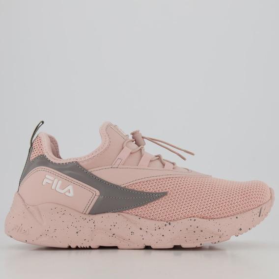 Tênis Fila V Track Feminino Rosa