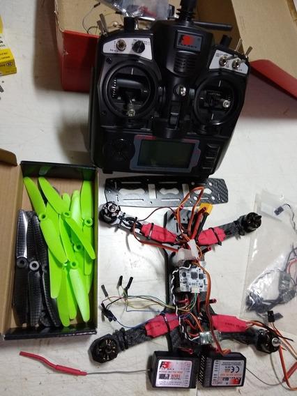 Vendo Drone Raicer Com Rádio Dois Rx Tudo Como Está Na Foto