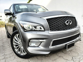 Infiniti Qx80 5.6l Perfection 8 Pasajeros At 2017