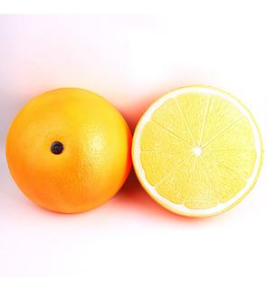 25cm Super Grande Squishy Medio Naranja Forma De Aumento Len