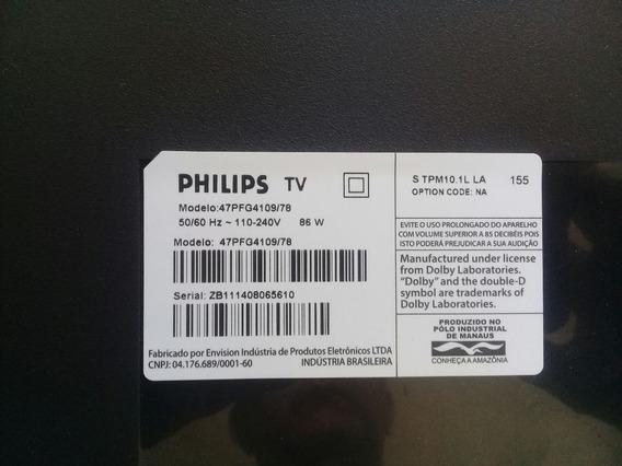 Placa T-con Philips 6870c-0444c