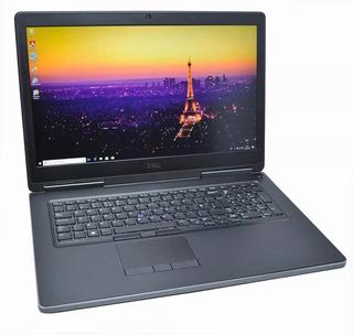 Laptop Dell Precision E7710 6th Gen 32gb Ram 1tb+240