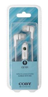 Auricular Coby Ce-101 Con Microfono