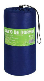 Saco De Dormir Camping Solteiro Sacola Para Transporte