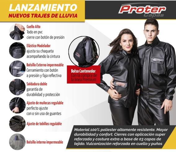 Traje De Lluvia Para Moto Proter Brasil Solomototeam