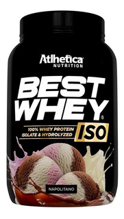 Best Whey Iso 900g Napolitano Atlhetica Nutrition