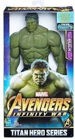 Boneco Hulk Guerra Infinita Titan Hero Power Fx 30cm Hasbro