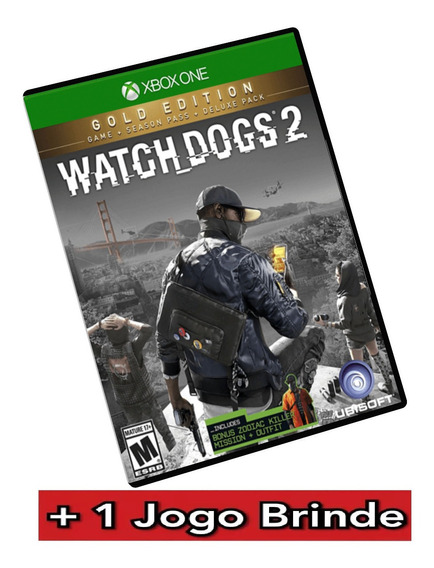 Watch Dogs 2 Gold Edition Xbox One Midia Digital + Brinde