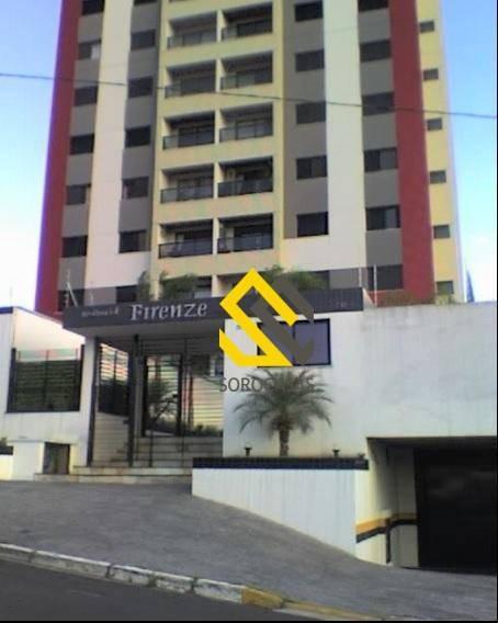 Apartamento Com 3 Dormitórios Para Alugar, 80 M² Por R$ 1.400,00/mês - Centro - Sorocaba/sp - Ap0668