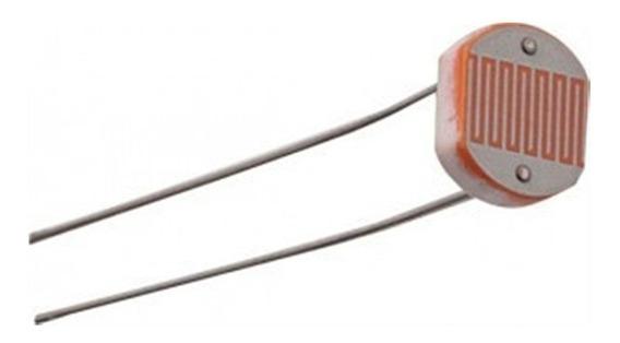 Sensor Luminosidade Ldr 5mm Fotoresistor - 10 Unidades
