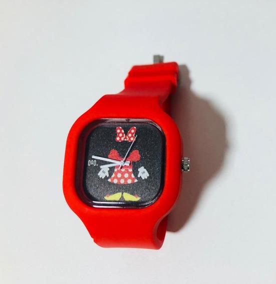 Relógio Minnie Disney Adulto E Infantil Troca Pulseira