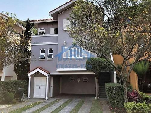 Condomínio Vila Nova Sobrado À Venda, 211 M² Por R$ 1.190.000 - Jardim Lambreta - Cotia/sp - So1058
