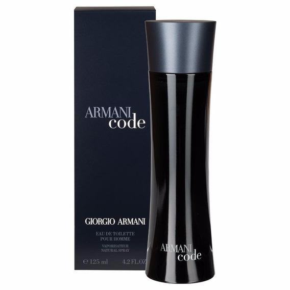 Armani Code Homme Masculino Edt 125ml Ganhe Brinde Exclusivo