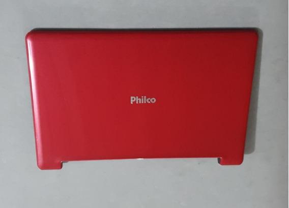 Carcaça Tampa Da Tela Netbook Philco 10d-v123lm + Cabo +