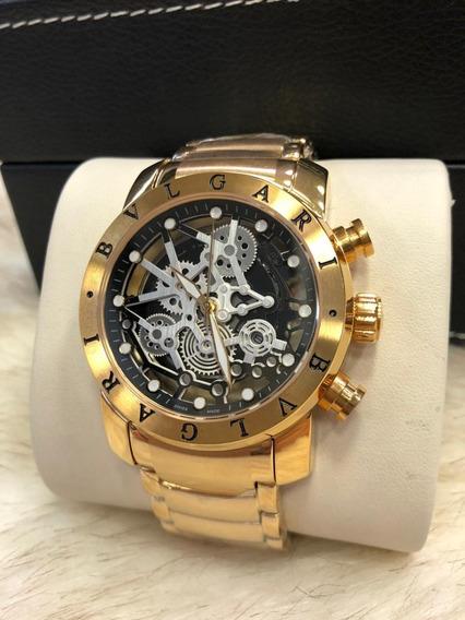 Relógio J09 Bv Ouro Linha Venom Pronta Entrega