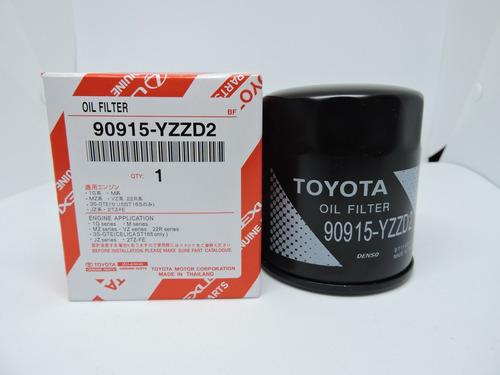 Imagen 1 de 2 de Filtro De Aceite Toyota 90915-yzzd2 (lf-80)